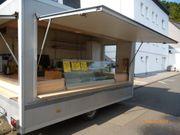 Verkaufsanhänger Imbissanhänger mit Kühltheke Humbaur