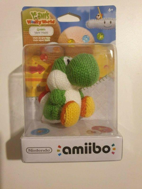 Nintendo Amiibo Woll Yoshi Grün