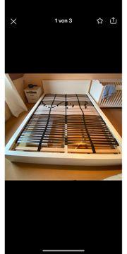 2 Lattenroste Federholzrahmen 80x200cm Ikea
