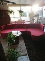 Sofa mit Überbreite