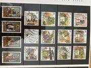 Briefmarkensammlung aus Liechtenstein