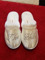 NEU Verkaufe Hochzeit Strass Pantoffeln
