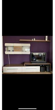Wohnwand Highboard Couchtisch Esstisch Wohnzimmermöbel