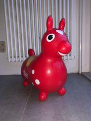 Hüpfpferd Rody in rot