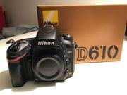 Nikon D610 Vollformat Digitalkamera mit