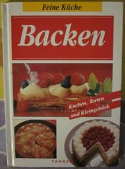 Back-Bücher Desserts Marmeladen