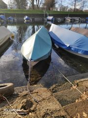 Motorboot Gondel inkl Motor Bodenseezulassung