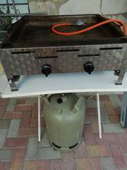 Gas Grill-Pfanne mit 11kg Gasflasche