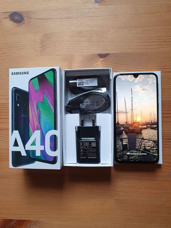 Samsung Galaxy A40- 64 GB, erstklassiger Zustand