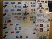 Ganzsachen verschiedene FDC Briefe und