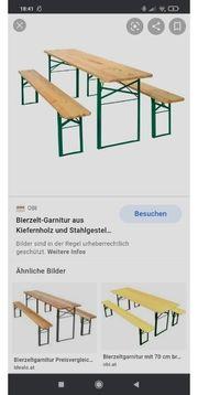 Biertisch Bierbank 230x70