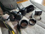 Nikon D5200 2 Objektiven u
