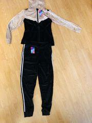 Damen Trainingsanzug Jogginganzug 2 teiler