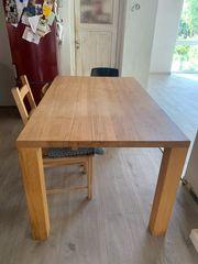 massivholztisch küchentisch ausziehbar