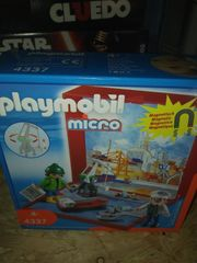 playmobil micro Hafen Neu