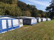 Verkaufe feststehenden Campingwagen Wohnwagen mit