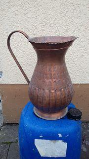 Vekaufe alte Kupferkanne