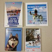 Schlittenhunde Rennen Alaska etc