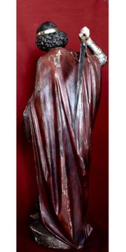 Heiliger Michael 20 Jahrhundert Zirbelholz
