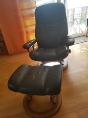 Stressless relax Sessel mit Hocker