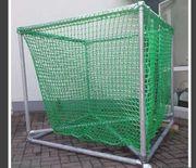 Heuraufe für Rundballen ohne Netz