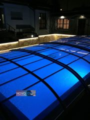 Pool Ueberdachung Elegant 6 Elox
