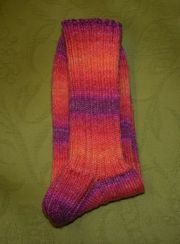 selbstgestrickte Socken 42 43 Esslinger