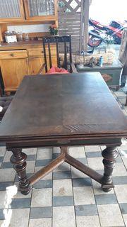 Antiker Tisch Richard Saalfeld