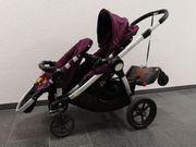 Zwillingskinderwagen Geschwisterkinderwagen Baby Jogger