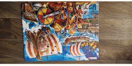 Original Puzzle aus Norwegen- Larsen *Wikinger* 65 Teile