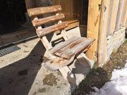 Stühle rustikal