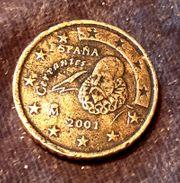 2001 Spanien 50 Euro Cent -