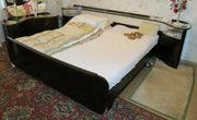 Schlafzimmer 60er 70er-Jahre Massivholz Mahagoni