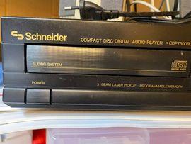 Bild 4 - CD-Spieler Schneider CDP7300RC 2 Lautsprecher - Schriesheim