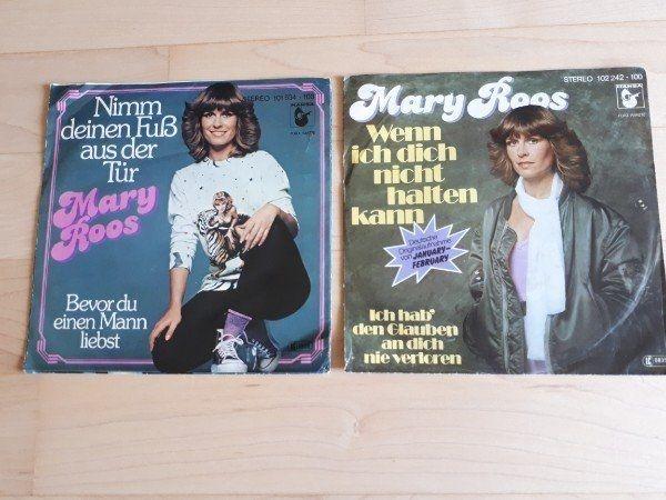 Mary Roos 2 Schallplatten Vinyl