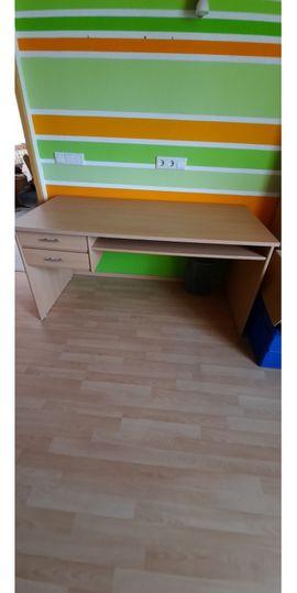Büromöbel - Schreibtisch Buche
