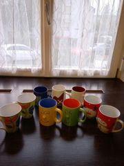 Verkaufe die Tassen alle um