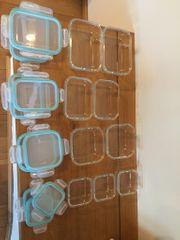 Glas-Frischhaltedosen-Set