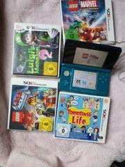 Nintendo 3DS mit Spielen