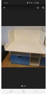 Wickeltisch Umbau zum Schreibtisch Ikea