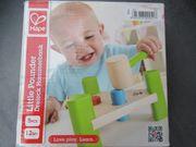 Baby Holzspielzeug Hammerbank Konstruktionslok