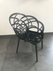 2 Stühle Flora Anthrazit und