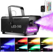 Rauchmaschine mit 13 farbigen LED