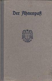 Ahnenpaß Spiegelberg Falk aus Klein-Welzheim