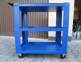 Werkzeuge, Zubehör - Werkstattwagen Carrello Bullman neuwertig
