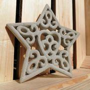 Ornament in Sternform Betondeko Gartendeko
