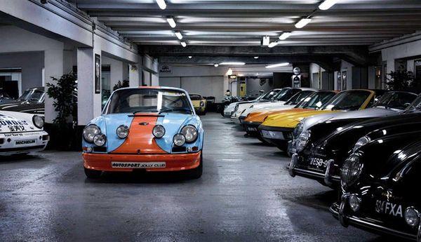 Oldtimer Garage Pforzheim