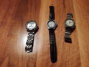 3 Stk Uhren