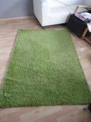 Teppich grün IKEA