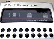 REALISTIC Taschenradio AM FM mit